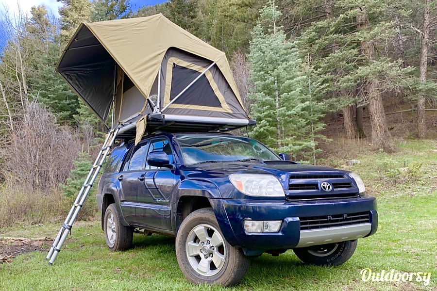 2004 Toyota 4runner Motor Home Camper Van Rental In Denver