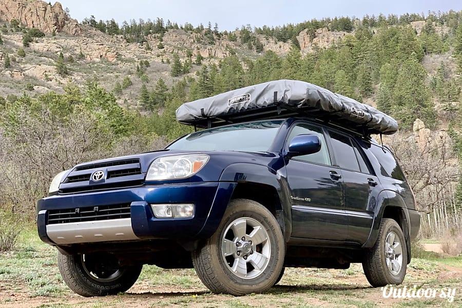 2004 Toyota 4runner Motor Home Camper Van Rental In Denver