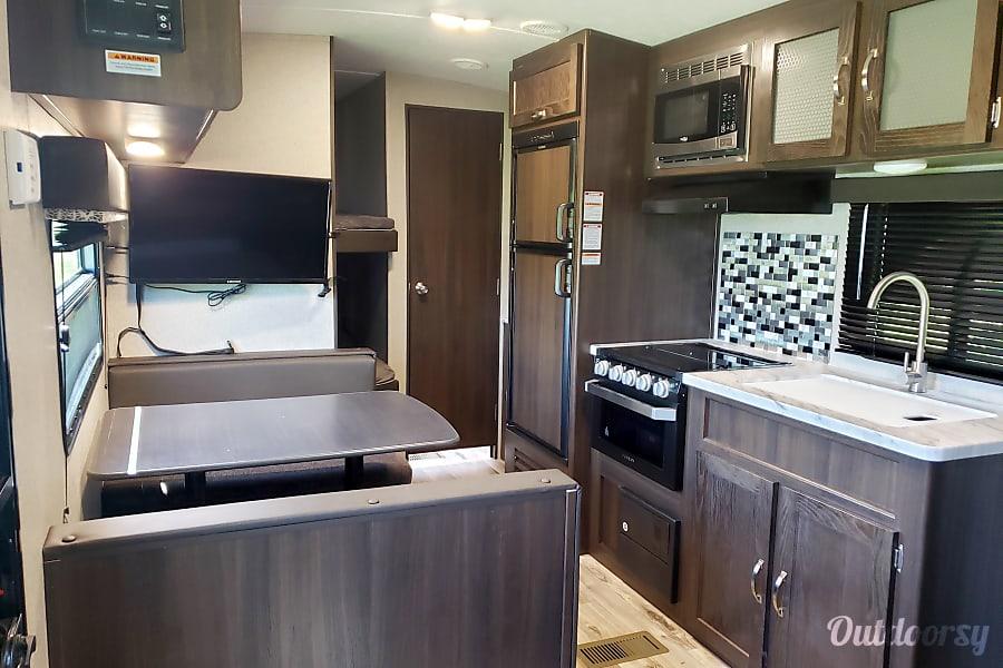 interior 2020 Keystone Springdale 260BH Shelbyville, TN