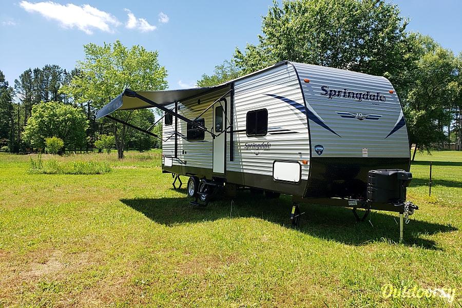 exterior 2020 Keystone Springdale 260BH Shelbyville, TN