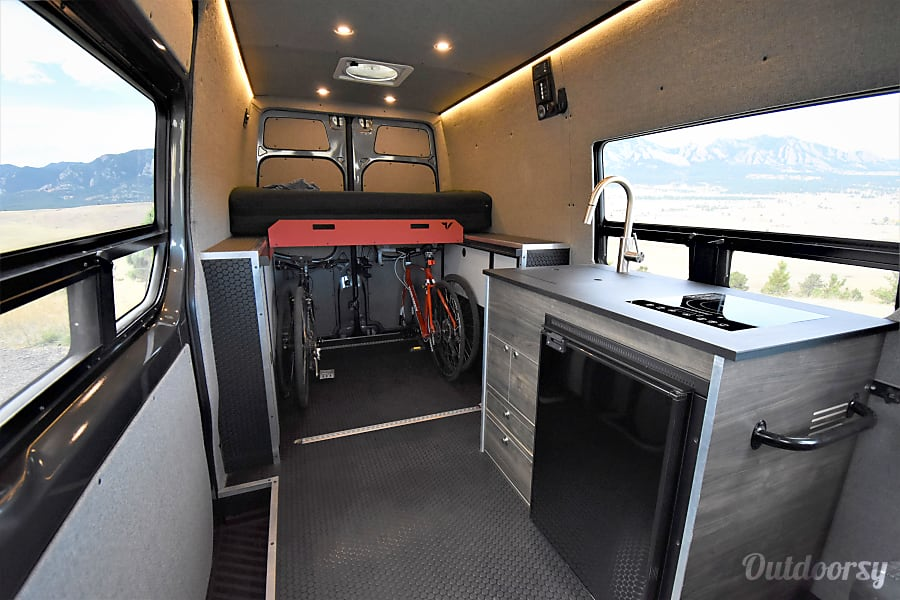 interior A-Lodge Adventure Van - 2017 Mercedes Sprinter Boulder, CO