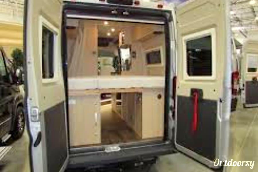 interior 2019 Hymer Loft Camper Van Phoenix, AZ