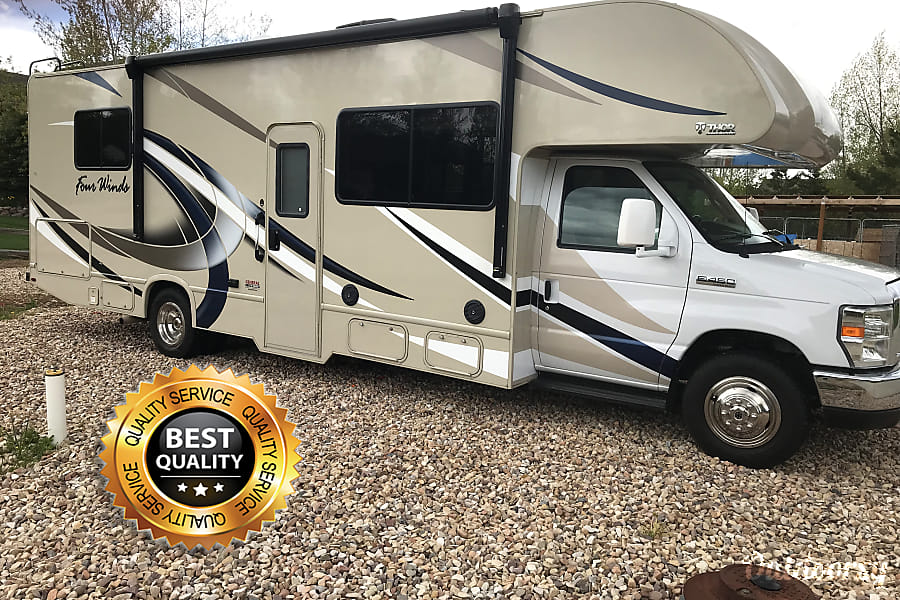 exterior NEW High-End RV easy to drive. Everything you need included! Airport delivery available. Francis, UT