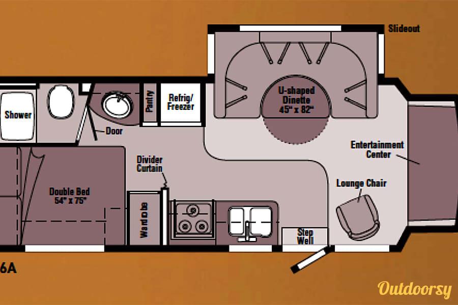 interior 2007 Winnebago Aspect Orange, MA