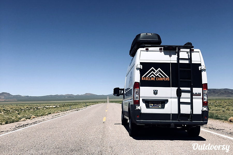 2018 Ram Promaster Motor Home Camper Van Rental In Bend