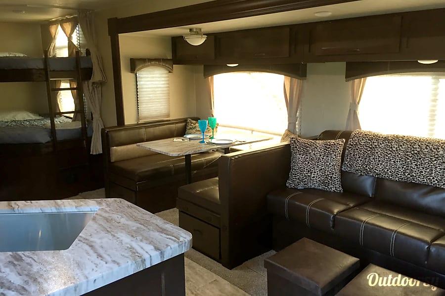 "interior ""BEAUTY"" our new 2019 Forest River Della Terra Lucas, TX"