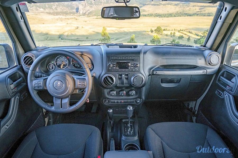 interior DENVER | 2-Door Jeep Camper Denver, CO
