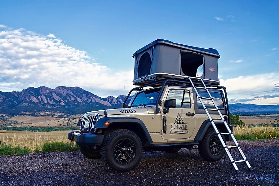 exterior DENVER | 2-Door Jeep Camper Denver, CO