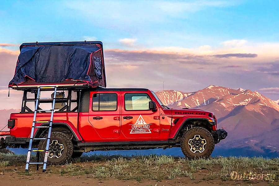 2020 Jeep Gladiator Rubicon Motor Home Class B Rental In