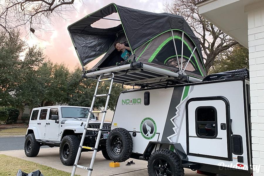 2019 Forest River NoBo 10.6 Overland Trailer Rental in ...