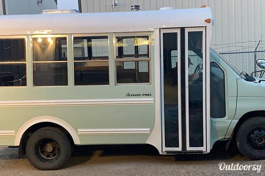 exterior School Bus Conversion - The Big Short Prince Albert, SK