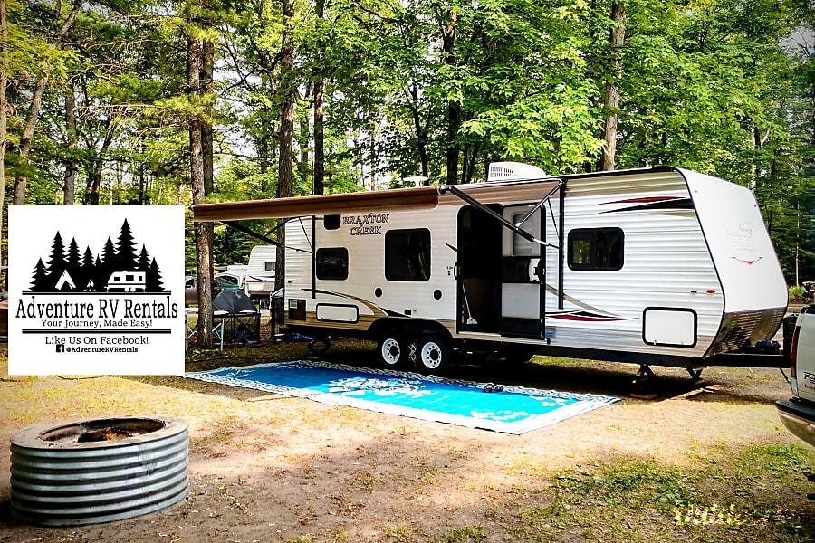 Adventure RV Rentals - 2019 Braxton Creek 26BH