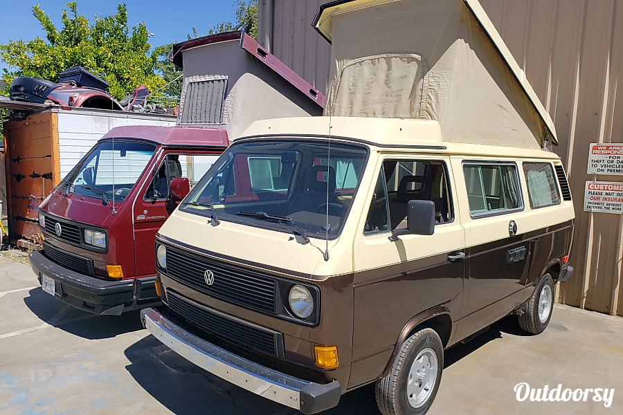 exterior Jack the 1984 volkswagen westfalia Livermore, CA