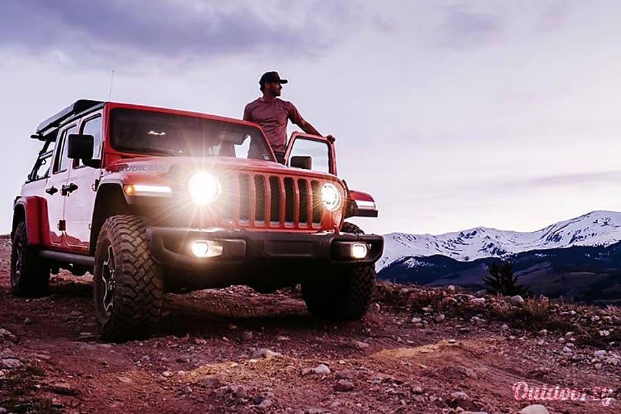 2020 Jeep Gladiator Rubicon Motor Home Class B Rental in ...