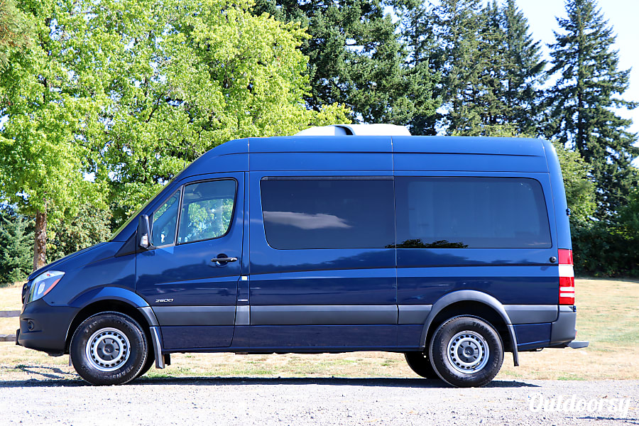 BIG BLUE: 2016 Mercedes-Benz Sprinter Camper Van Portland, OR