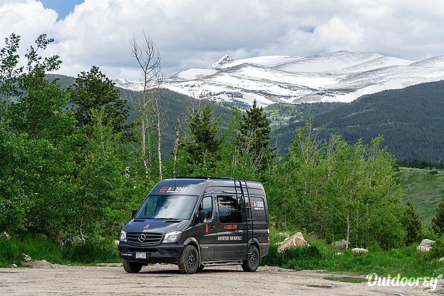 exterior A-Lodge Adventure Van - 2017 Mercedes Sprinter Boulder, CO