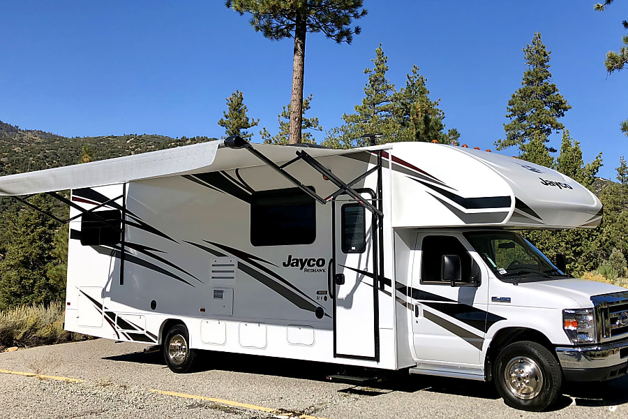"exterior 2020 Jayco Redhawk 'Bunkhouse"" Yucaipa, CA"