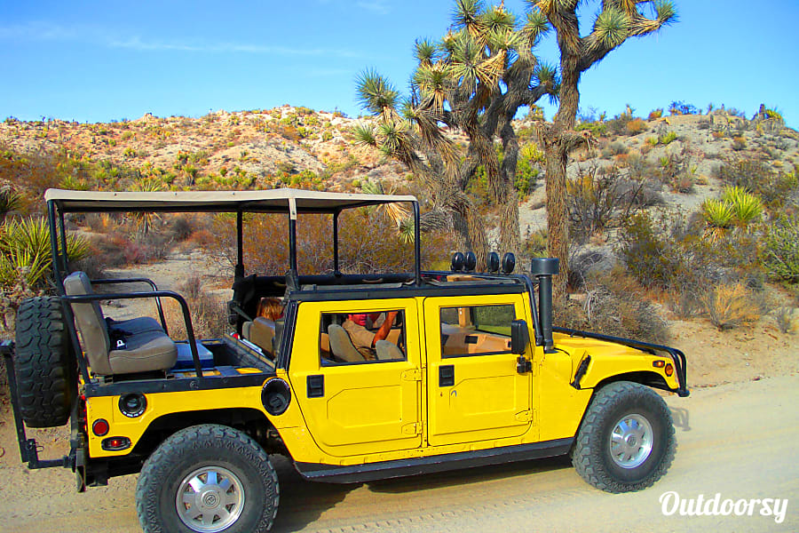 exterior H-1 Joshua Tree Hummer - The Fiesta Yucca Valley, CA