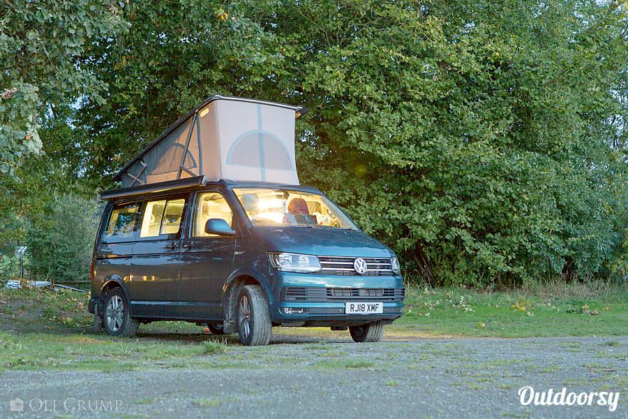 campervan rentals in London - VW California Ocean