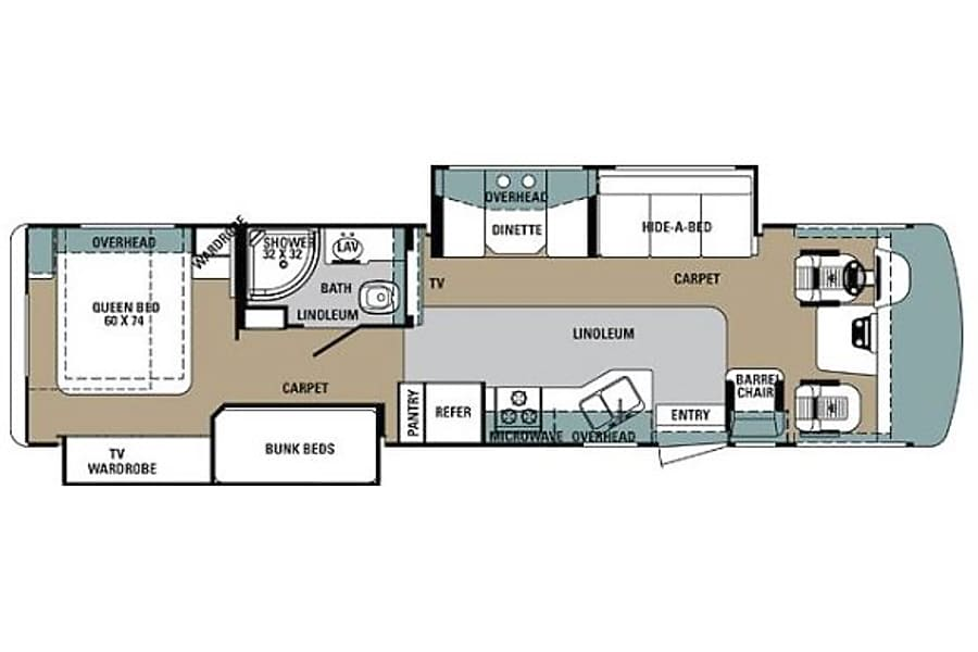 35' Georgetown w/Bunk Beds & 2 Slide-Outs (46) San Marcos, CA