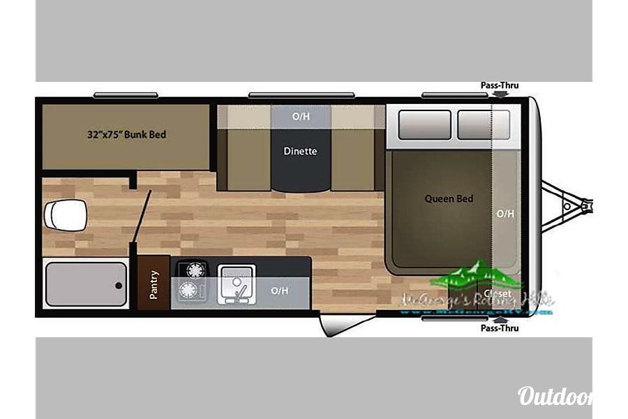 floorplan RV 35: Springdale 2 Herndon, VA