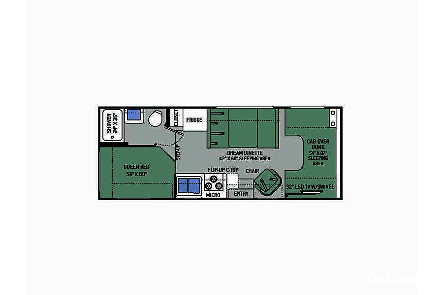 2016 Thor Motor Coach Chateau Buena Park, CA