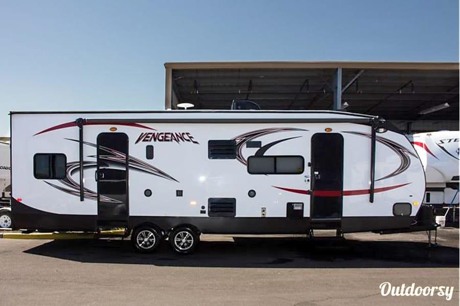 floorplan 29' Vengeance Toy Hauler Phoenix, AZ