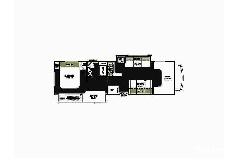 floorplan 2016 Coachmen Freelander Mukilteo, WA
