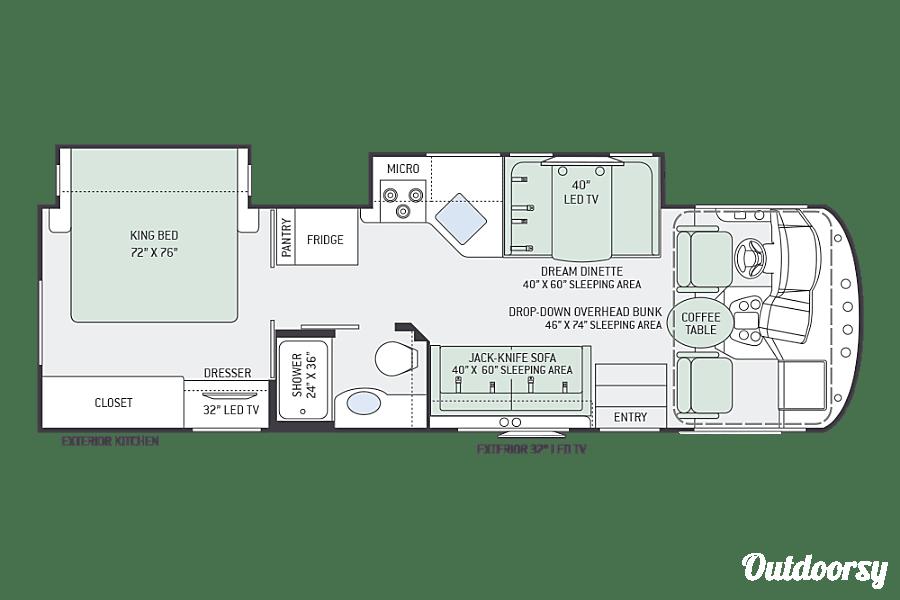 floorplan 2017 Thor A.C.E 29.4 Seffner, FL