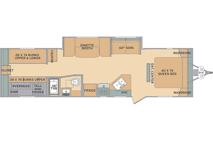 floorplan The Oasis Camp Verde, AZ