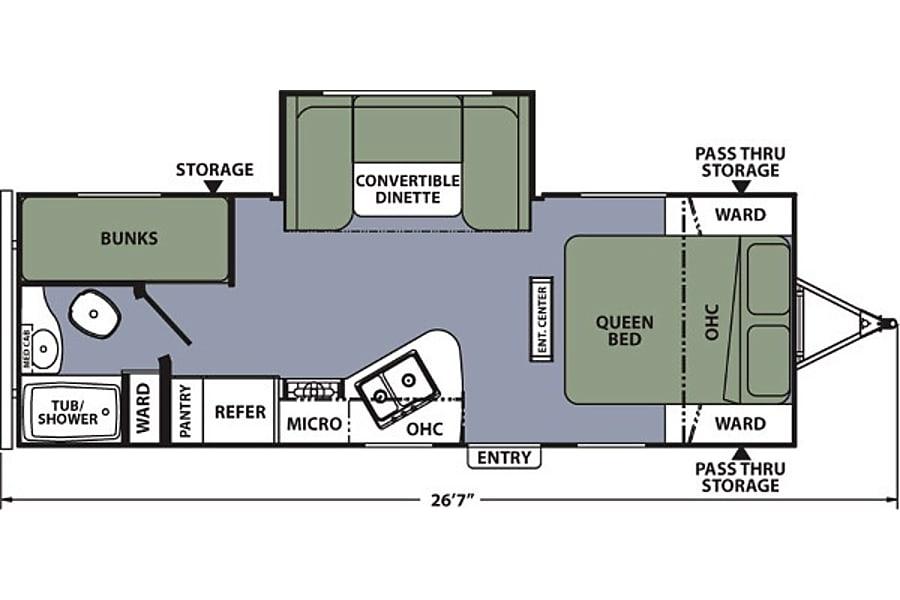 floorplan Apex 23LE Golden, CO