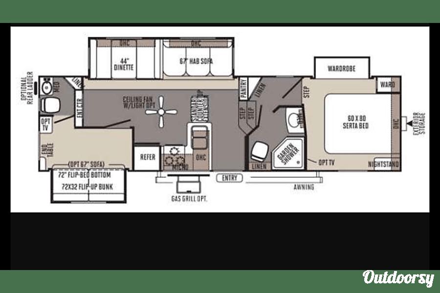 floorplan 2014 rockwood ultra light Placerville, CA