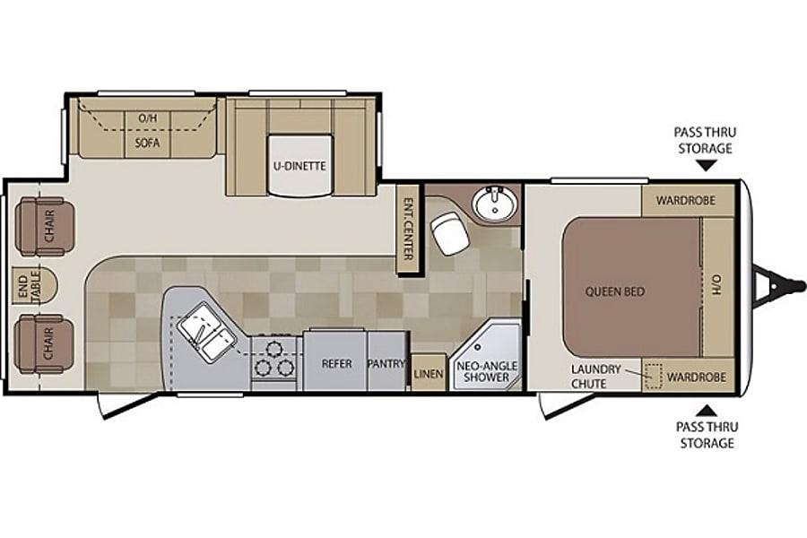 floorplan Luxury Camping Snoqualmie, WA