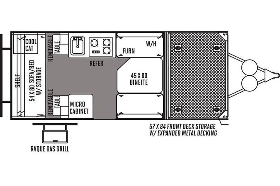 floorplan Off Road Flagstaff T12RBTH Golden, CO