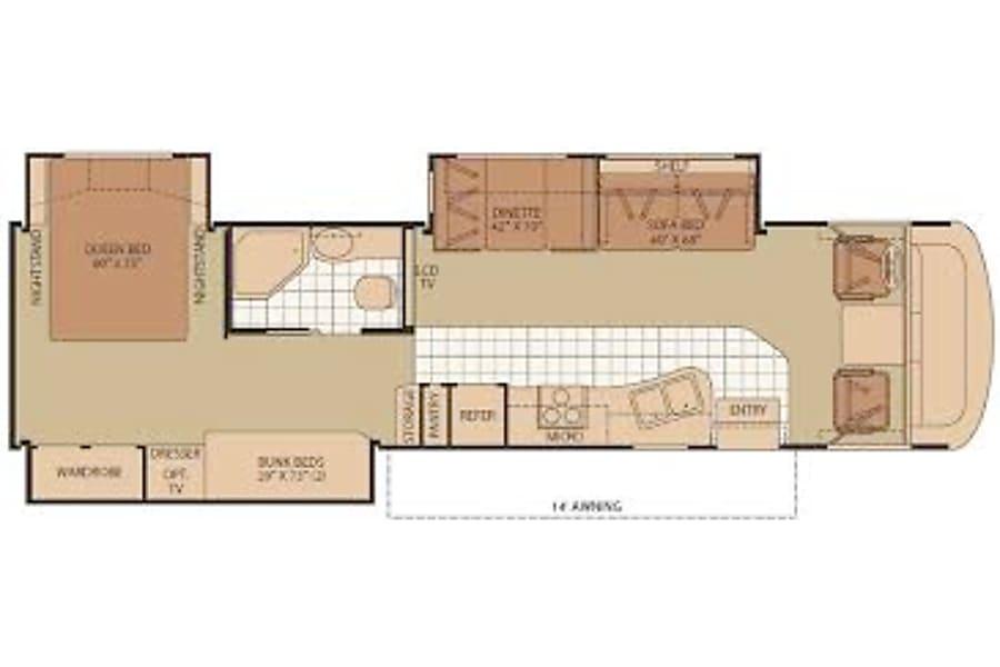 """floorplan """"HaRVey"""" Prescott, AZ"""