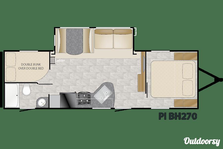 floorplan 2015 Heartland Pioneer Watkinsville, GA