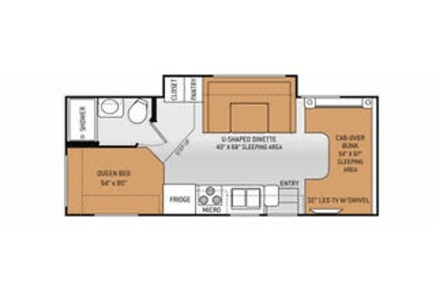 2017 Thor Motor Coach Chateau Laguna Woods, CA Everything you need in one great floor plan!
