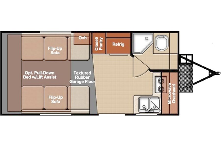 floorplan 2017 Track and Trail 17 Denver, CO