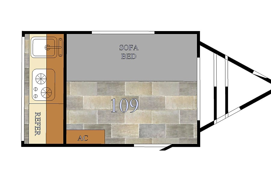 floorplan 2018 Sunray 109 Denver, CO