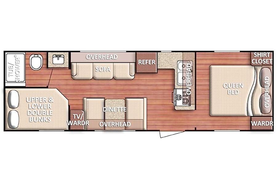 floorplan 2017 Insbruck 275FBG Denver, CO