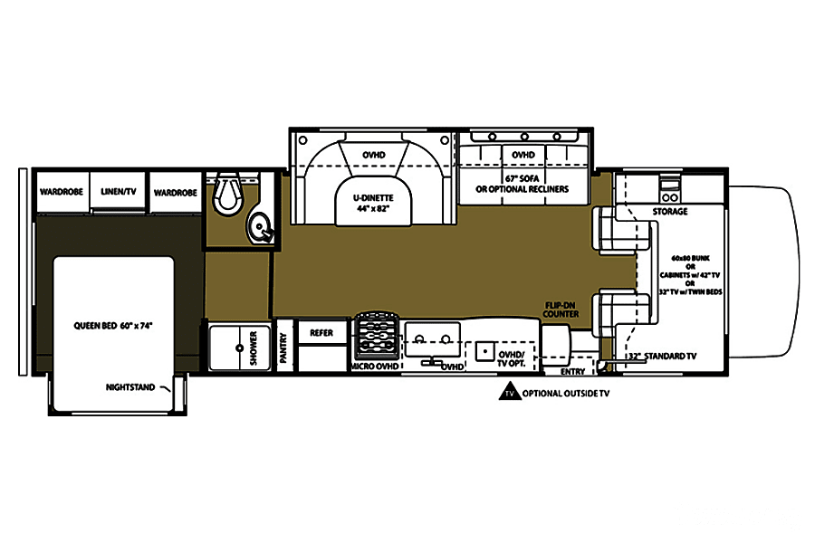 floorplan 2016 Forest River Forester Placerville, CA
