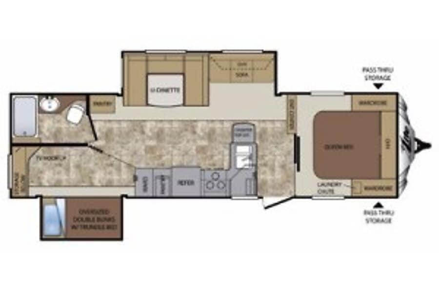 floorplan Cougar New Braunfels, TX