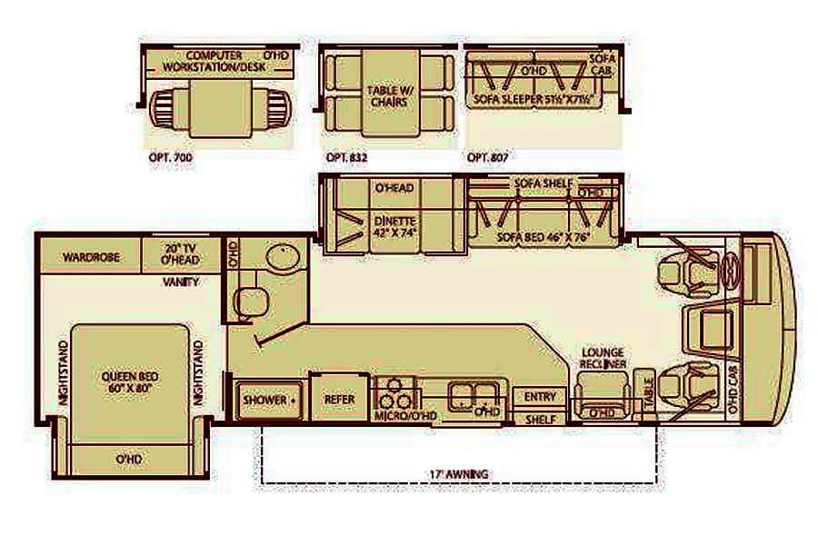 floorplan OBX Bounder Kitty Hawk, North Carolina