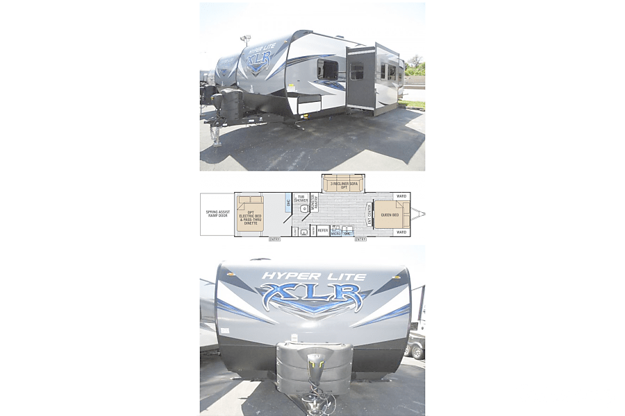 floorplan 2016 Forest River Hyper Lite Xlr St. Louis, Missouri