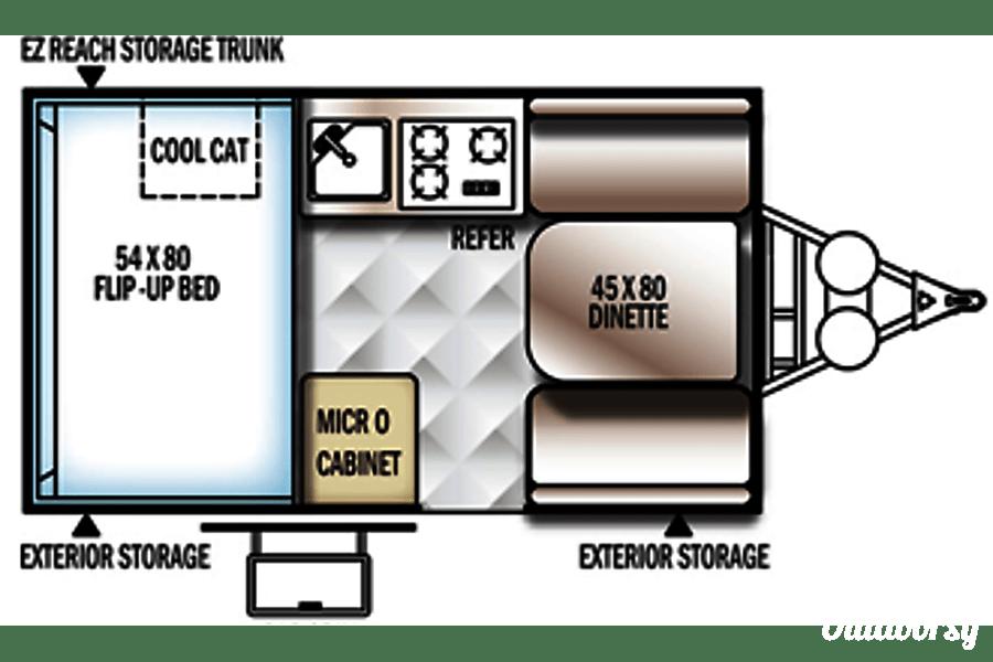 floorplan Fully stocked, compact, light, super fast set up! Boise, Idaho