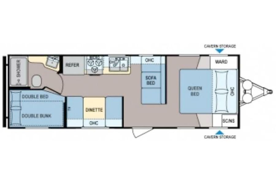 floorplan 2015 Coleman Expedition Idaho Falls, ID