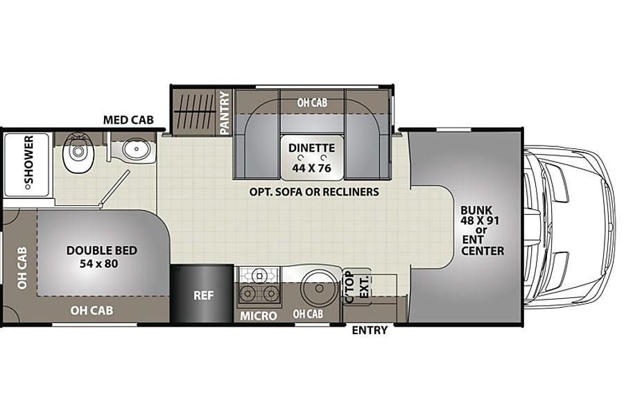floorplan 2016 Mercedez 2 @ Disneyland+CA Coast Anaheim, CA