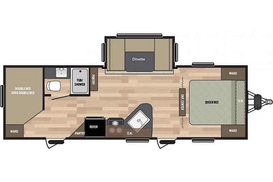 floorplan 2017 Keystone Springdale Morehead, KY