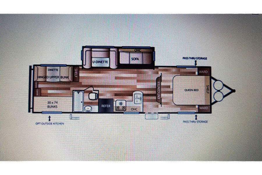 floorplan 2015 Forest River Salem Concord, NC