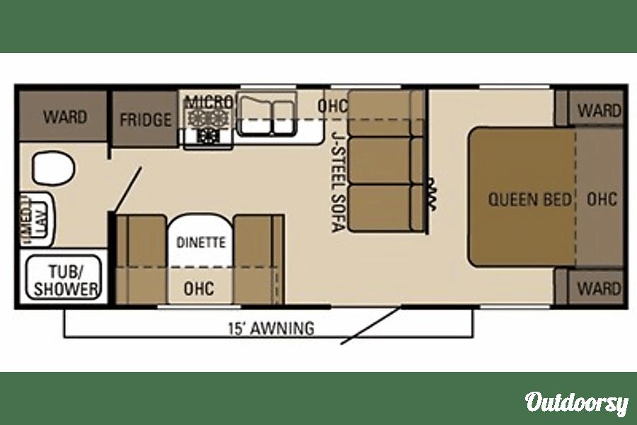 floorplan Starcraft Autumn Ridge 235FB Draper, UT